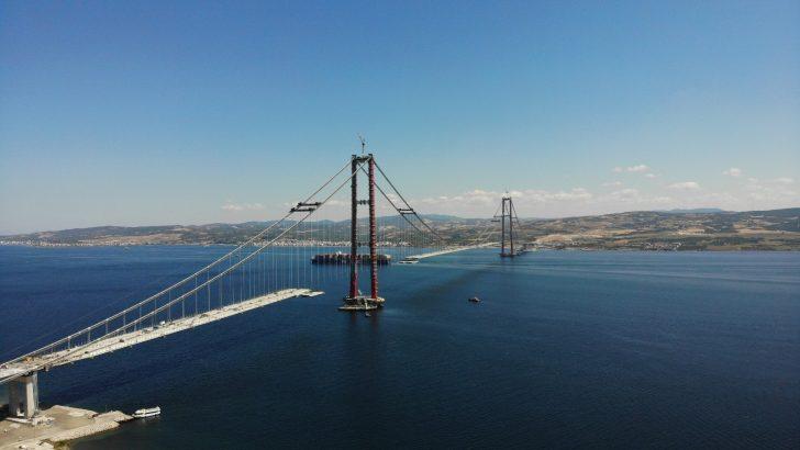 1915 Çanakkale Köprüsü'nde adım adım sona yaklaşıldı
