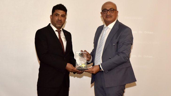 ADÜ Uluslararası Engelsiz Bilişim 2021 Kongresi'nde ödül aldı