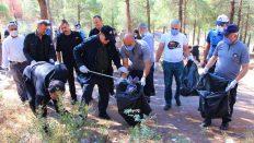 Amasya Belediyesi çalışanlarından 'Dünya Temizlik Günü'nde seferberlik