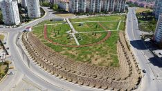 Ankara Büyükşehir Belediyesi Başkente yeni bir yeşil alan daha kazandırdı