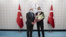 ASO Yönetim Kurulu, Milli Eğitim Bakanı Mahmut Özer'i ziyaret etti