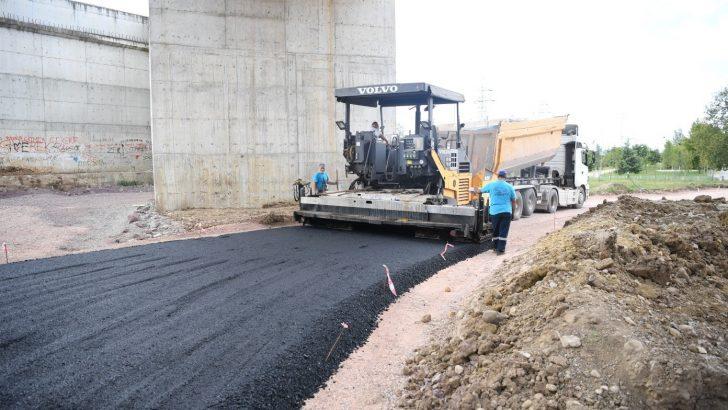 Ataevler'de asfalt çalışmaları tamamlandı