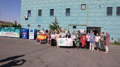 Avrupalı eğitimciler Melikgazi Geri Dönüşüm Tesisine hayran kaldı