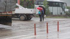 Ayancık'ta kuvvetli yağış: Metrekareye 33 kilo yağmur düştü