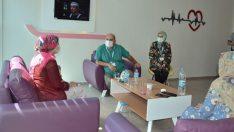 Bafra Devlet Hastanesi'nde 5 yıldızlı 'anne oteli'