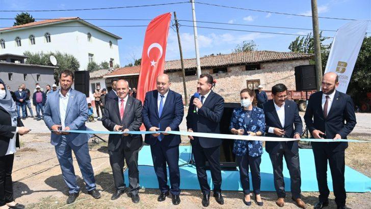 Balıkesir Büyükşehir Belediyesi üreticinin elini güçlendiriyor
