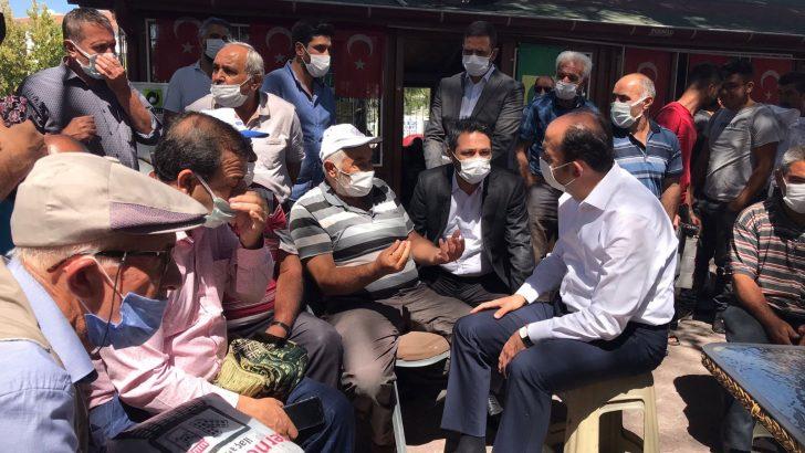 Başkan Altay, Ereğli'de vatandaşlarla buluştu, yatırımları inceledi