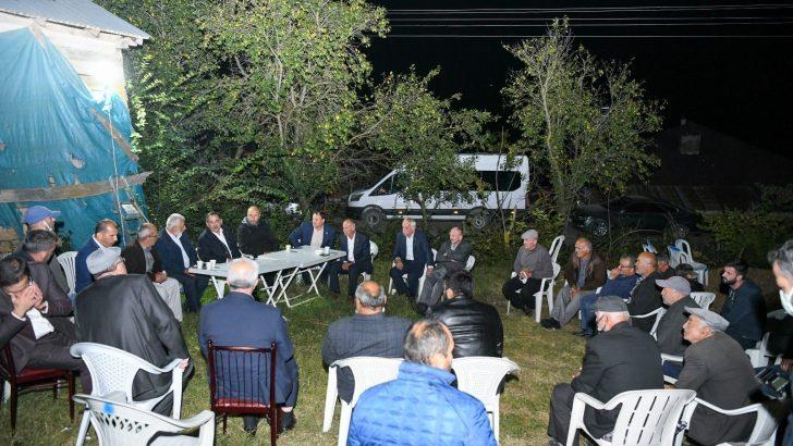 """Başkan Demir: """"Günlük 300 bin metreküp kapasiteli içme suyu arıtma tesisi yapacağız"""""""