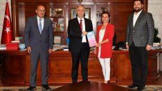 Başkan Köse, Mansur Yavaş'ı Altın Safran festivaline davet etti