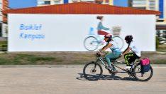 Başkentte bisiklet ulaşımının tüm operasyonları Bisiklet Kampüsü'nde yürütülecek