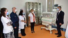 BAÜN Hastanesinde Yenidoğan yoğun bakım ünitesi açıldı