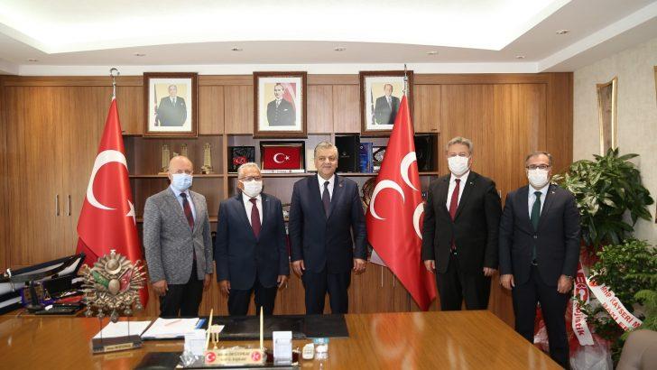 Belediye başkanlarından İncetoprak'a ziyaret