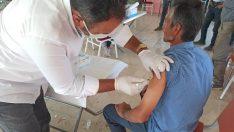 Bilecik'te tarım işçilerine Covid-19 aşısı yapıldı