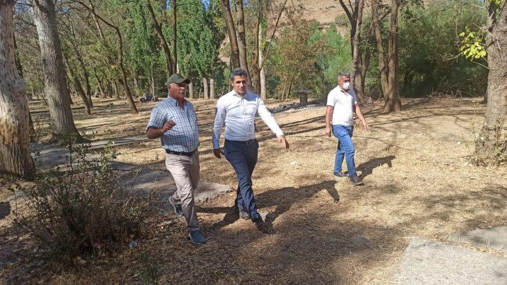 Bingöl Belediyesi, DSİ parkındaki çalışmalara start verdi