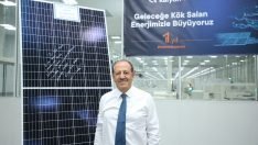 Bir yılda 1 milyon güneş paneli üretildi