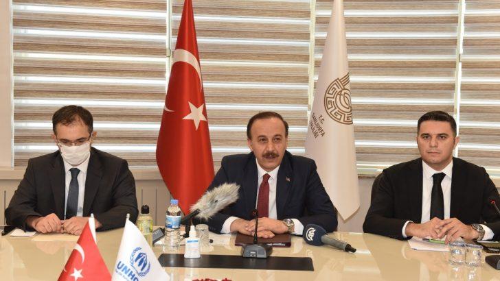 BM Mülteciler Yüksek Komiseri Grandi Şanlıurfa'da
