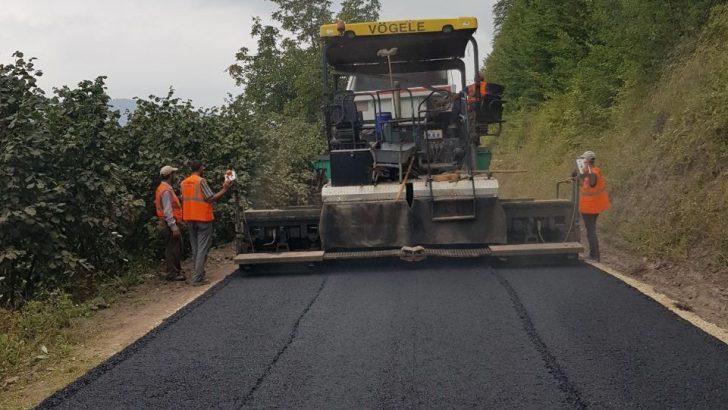 Büyükşehir Belediyesi'nden 28 ayda 1 milyon ton asfalt