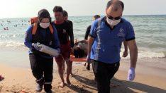 Büyükşehir sağlık ekipleri sahillerde 151 acil müdahale yaptı