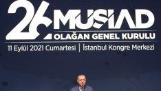 """Cumhurbaşkanı Erdoğan: """"2023 hedeflerimize maruz kaldığımız tüm sabotajlara rağmen adım adım yaklaşıyoruz"""""""