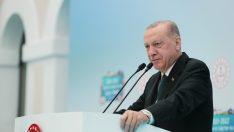 """Cumhurbaşkanı Erdoğan: """"Yüz yüze eğitimi devam ettirmekte kararlıyız"""""""