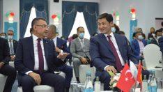 Cumhurbaşkanı Yardımcısı Oktay, Kırgızistan Cumhurbaşkanı Caparov ile görüştü