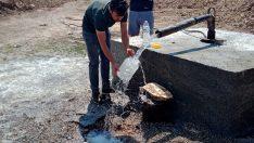 Dağdere'ye yeni su kaynağı kazandırıldı