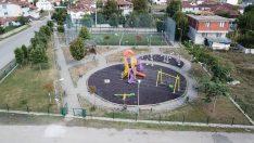 Darıca Mahallesi yeni parkına kavuştu