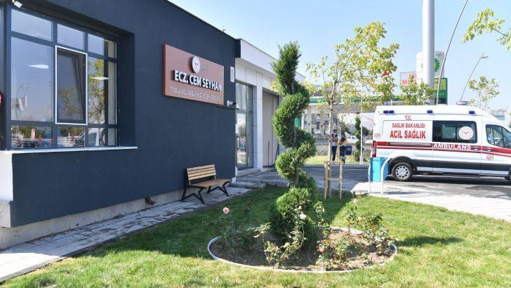 Eczacı Cem Seyhan 112 Acil İstasyonu'nu açıldı