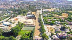Elazığ'da kullanılamaz durumdaki çamlık alan, yaşam alanına dönüştürülüyor