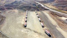 Elazığ'da yeni odun ambarı çalışmalarında sona gelindi