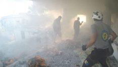 Esad güçleri İdlib'de bir sağlık merkezini hedef aldı: 1 ölü, 3 yaralı