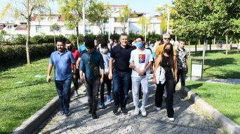 """Esenyurt'ta """"Avrupa Hareketlilik Haftası"""" yürüyüşü"""
