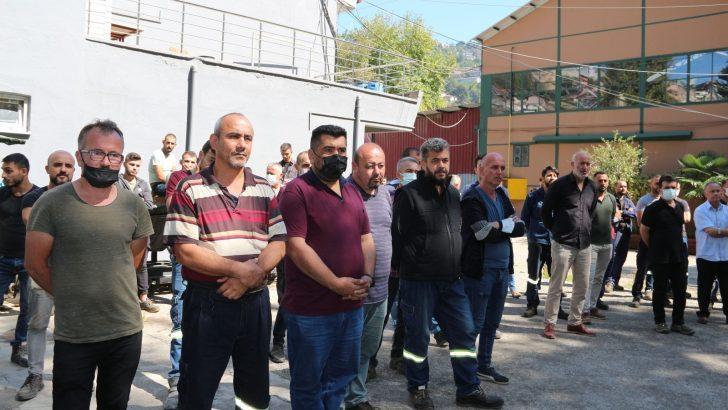GMİS Yönetim Kurulu, Maden Makinaları Fabrikasında işçilerle bir araya geldi