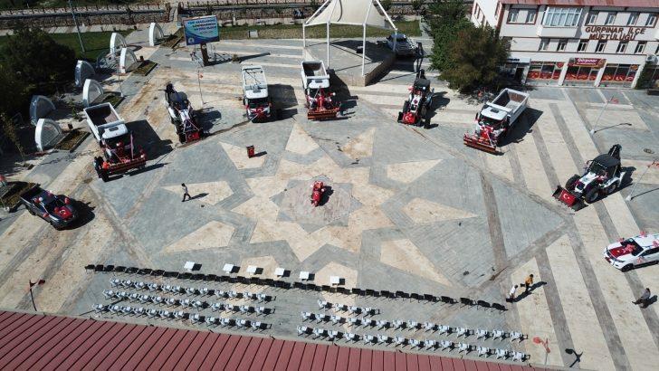 Gürpınar Belediyesi araç filosunu genişletti