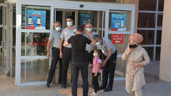 Hakkari'de korona virüsle mücadele çalışması