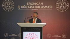 """Hazine ve Maliye Bakan Yardımcısı Nebati: """"Erzincan Türkiye'nin ortalamasıyla büyüyen bir şehrimiz"""""""