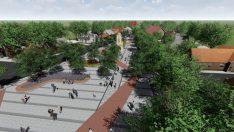 Helvacı Tarihi Kent Meydanı'nda sona yaklaşılıyor