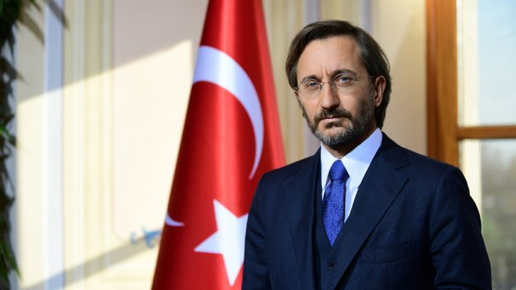 """İletişim Başkanı Altun: """"Cumhuriyet tarihinin en büyük çeyreklik büyüme oranı"""""""