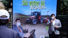 Kahramankazan'da çiftçinin yüzünü güldüren destekleme