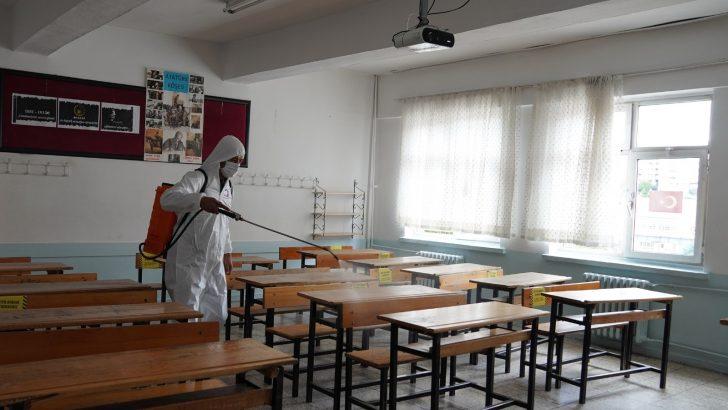 Keçiören'de okullar için 'dezenfeksiyon timi' kuruldu