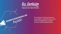 'Kız Kardeşim Projesi' yenilenen eğitim platformu ile daha fazla eğitim içeriği sunuyor