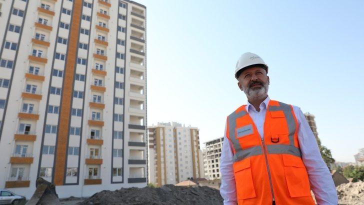 Kocasinan'da dönüşümle eski binalar modern yapılaşmayla taçlandırılıyor