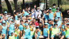 Kocasinan'ın yaz kursları finali Başkan Çolakbayrakdar ile yapıldı