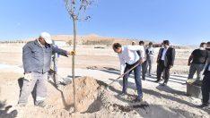 Konya'daki en büyük millet bahçesi Ereğli'de inşa ediliyor