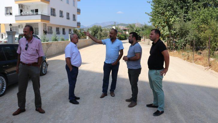 Kozan'da asfalt seferberliği