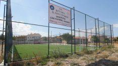 Kütahya'da 20 sentetik çim futbol sahası hizmete girdi