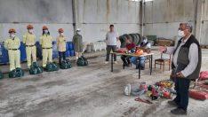 Kütahya'da orman ekiplerine işbaşı bilgi yenileme eğitimi