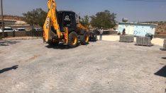 Mardin'de kilitli parke çalışmaları yoğun şekilde devam ediyor