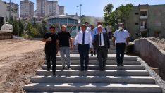 MASKİ Genel Müdürü Mehmet Mert, Kernek'te incelemelerde bulundu