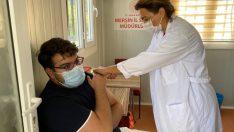 MEÜ yerleşkesine mobil aşı ekibi yerleştirildi